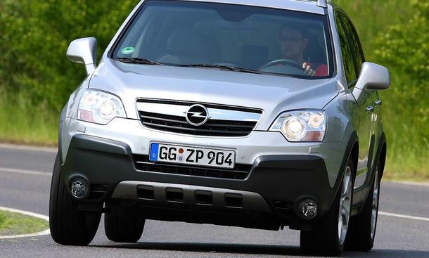 Opel Antara 2.0 CDTI - 2,0-Liter-Turbodiesel mit 150 PS