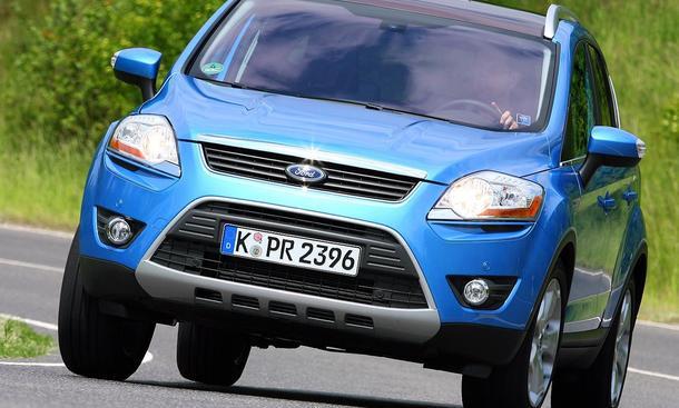 Ford Kuga 2.0 TDCi 4x4 - 2,0-Liter-Turbodiesel
