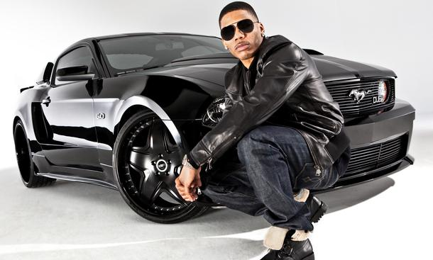 US-Rap-Star Nelly - Ford Mustang 20115.0 DUB Edition