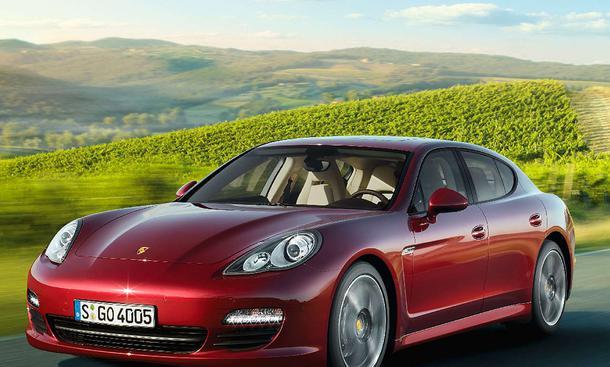 Porsche Panamera ab Mai 2010 mit V6 und 300 PS