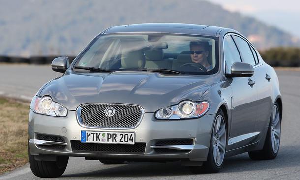 Jaguar XF 3.0 V6 Diesel im Vergleichstest der Oberklasse