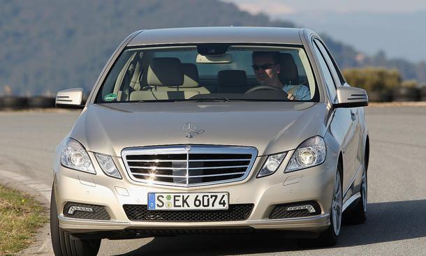 Mercedes E 350 CDI BlueEFFICIENCY im Vergleichstest der Oberklasse