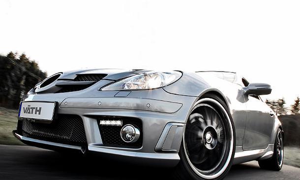 Väth V58 Mercedes-Benz SLK AMGR171 SLK Kompressor Fahrzeugveredler Tuner Tuning