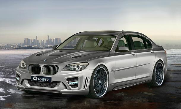 G-Power Tuning BMW 760i Storm mit 725 PS in 4,2 Sekunden auf Tempo 100