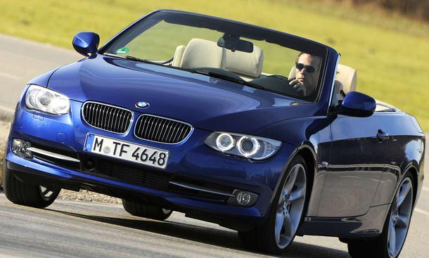 BMW 335i Cabrio Frontansicht