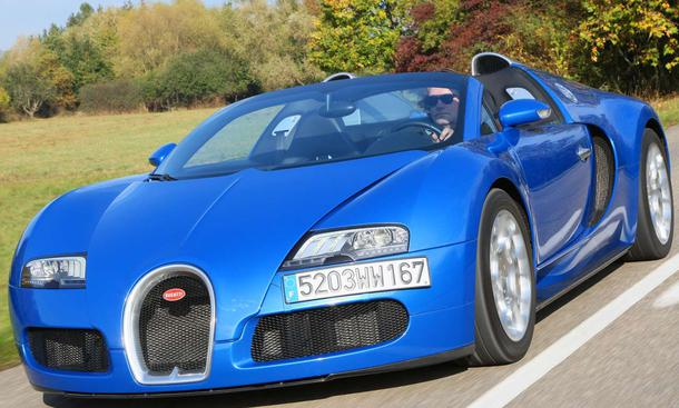 Bugatti Grand Sport Roadster 1001 PS starker Supersportwagen