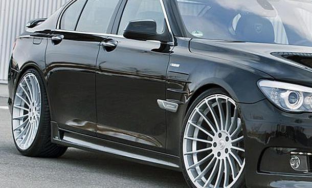 Die Aluminium-Räder speziell für gewichtige Fahrzeuge konzipiert wie BMW und Range Rover