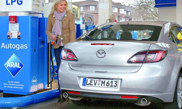 Autogas-Übersicht: Mazda6LPG001