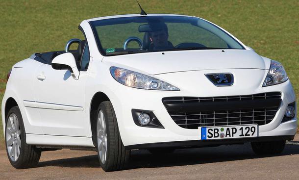 Der Peugeot 207 CC war 2009 das meistverkaufte Cabriolet in Deutschland