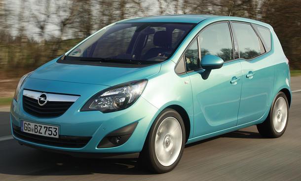Der neue Opel Meriva ecoFLEX Kompaktvan im ersten Fahrbericht