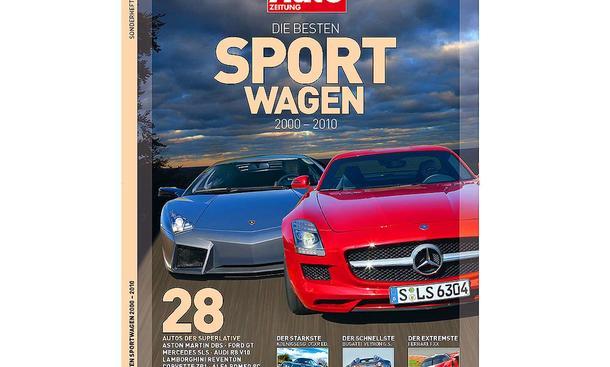 AUTO ZEITUNG Premium-Edition Die besten Sportwagen 2000 bis 2010 – Titel