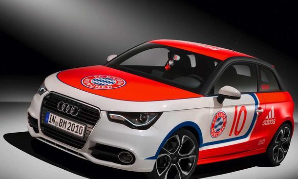 Audi A1 FC Bayern Arjen Robben Nummer 10 Wörthersee-Tour 2010