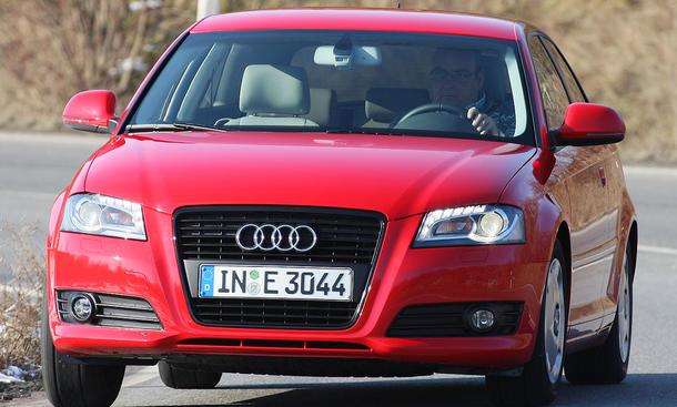 Der neue Audi A3 1.6 TDI verfehlrt den Normverbrauch von 3,8 Litern pro 100 Kilometer