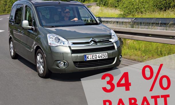 Top 10 der Neuwagen-Rabatte: Citroën Berlingo