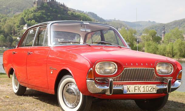 Vor 50 Jahren erschien der Ford Taunus 17 M P3