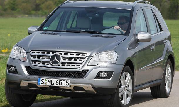 Seit langem ist der Mercedes ML eine etablierte Größe im SUV-Segment