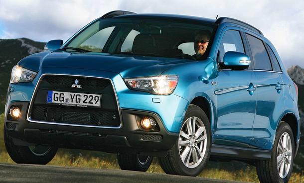 Der neue Mitsubishi ASX tritt gegen VW Tiguan, Nissan Qashqai und Skoda Yeti an