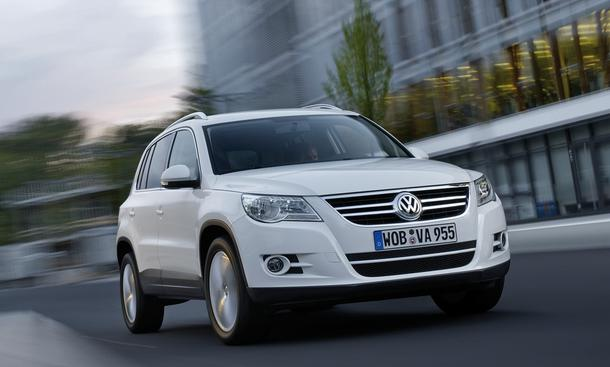 vw tiguan modelljahr 2011 neue motoren und 7 gang dsg. Black Bedroom Furniture Sets. Home Design Ideas