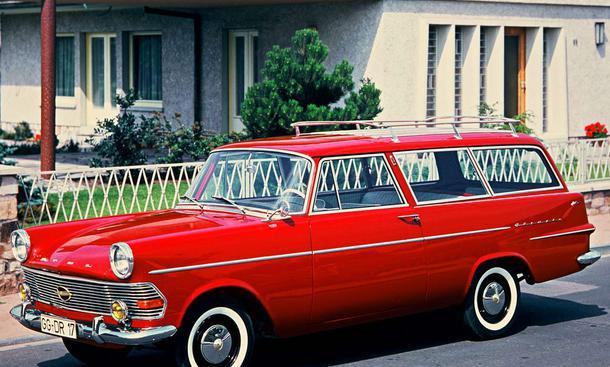 1960 Opel Rekord P2 Caravan