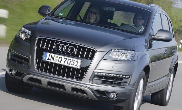 Audi bringt seinen komplett neu entwickelten Dreiliter-Diesel jetzt auch im großen Q7