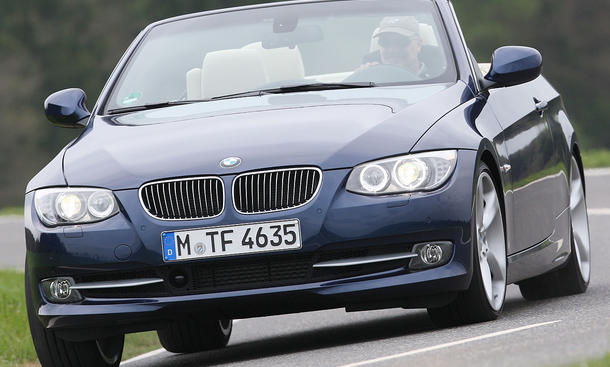 Das BMW 335i Cabrio gibt es ab 54.750 Euro