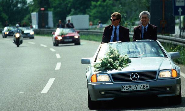 Fußball Weltmeister 1990 - Autokorso