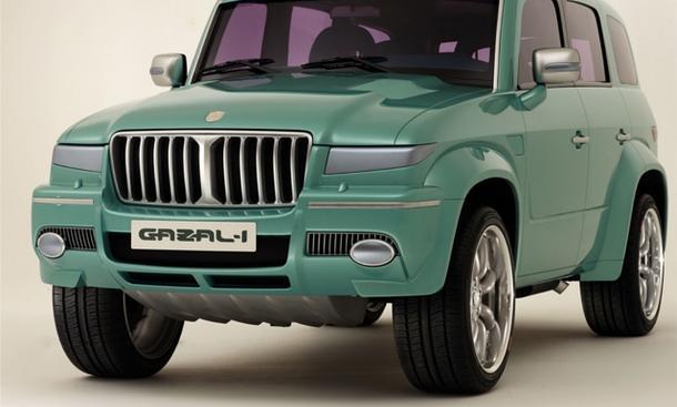 Gazal-1 Concept 2010 SUV der King Saud University