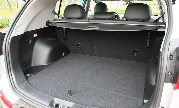 erste ausfahrt im neuen kia sportage mit allrad bild 8. Black Bedroom Furniture Sets. Home Design Ideas