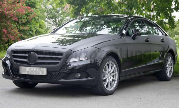 Mercedes CLS Erlkönig