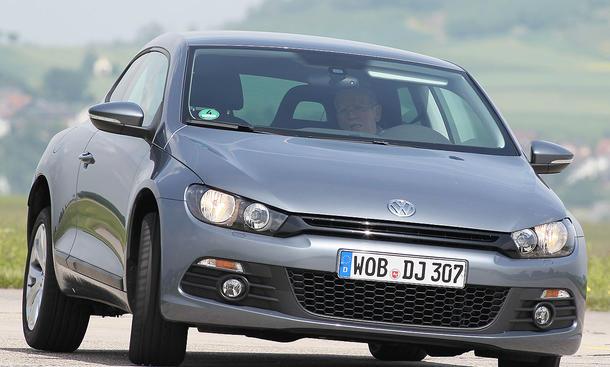 Den VW Scirocco 1.4 TSI gibt es ab 22.200 Euro zu kaufen