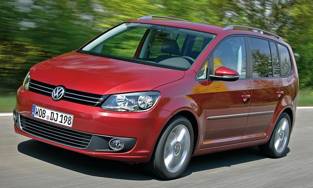Der neue VW Touran Familien-Van als 1.6 TDI mit BlueMotion Technology