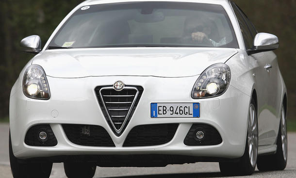 Selbst mit dem 105 PS starken JTDM-Motor ist die Alfa Romeo Giulietta 1.6 JTDM kein automobiles Graubrot