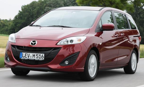 Keine Zukunftsmusik: Mazdas neuer Kompaktvan kommt ab Oktober bodenständig und mit Sinn fürs Praktische