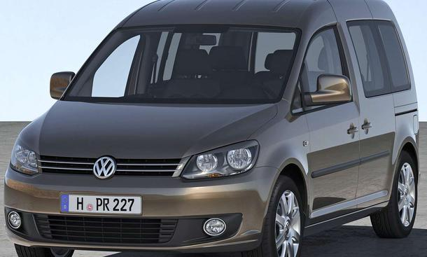 VW Caddy ab September 2010 mit Facelift