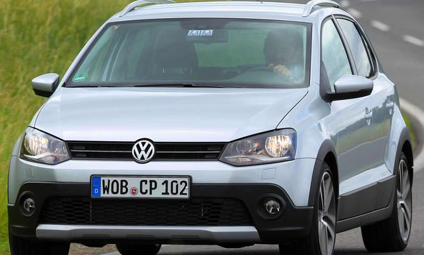 VW Cross Polo 2010 in markanter SUV-Optik