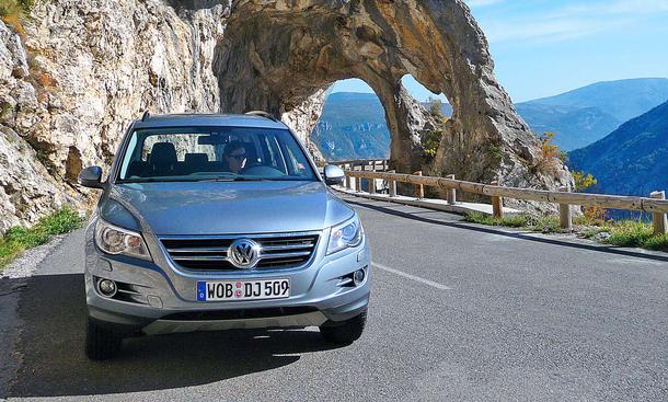 VW Tiguan 2.0 TDI 4MOTION Frontansicht
