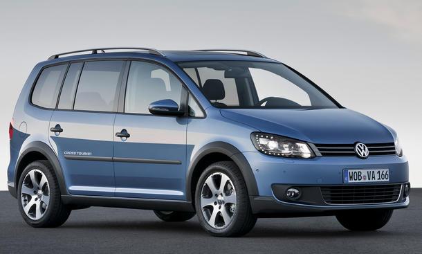 VW CrossTouran mit Offroad-Optik