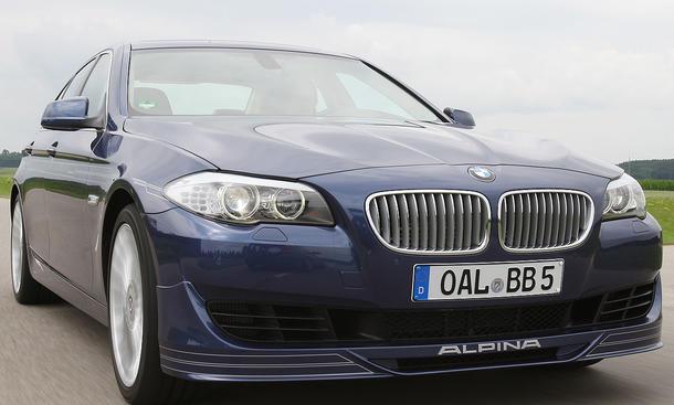 Wenn Alpina einen BMW 5er neu abmischt, wird immer etwas Besonderes geboten