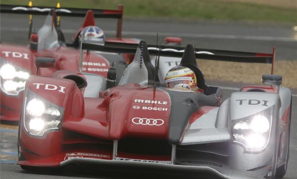 Audi R15 TDI startet bei weltweietr Rennwagen-Serie