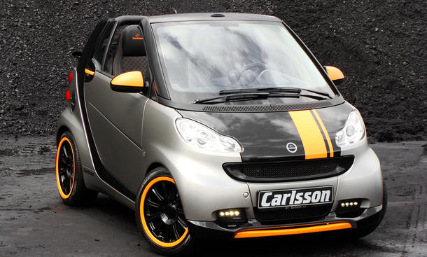 Carlsson Smart Fortwo C25 Edition Frontansicht