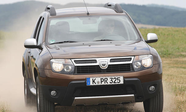 Dacia Duster dCi 110 FAP 4x4 001 Front