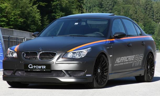 G-Power BMW M5 Hurricane RR stellt Geschwindigkeitsrekord auf