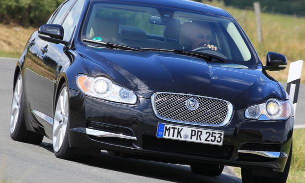 Jaguar XF 3.0 Diesel Frontansicht