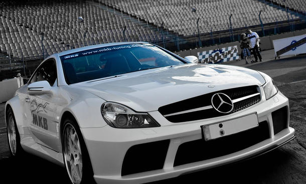 MKB P 1000 Mercedes AMG SL 65 Black Series mit 1015 PS