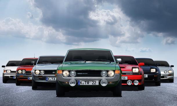 40 Jahre Toyota Celica - alle Generationen