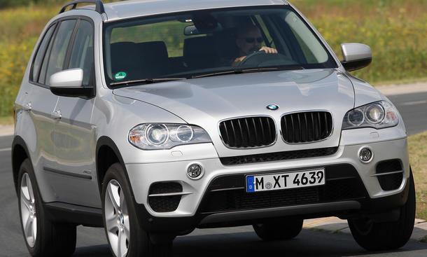 BMW X5 xDrive30d im Vergleichstest