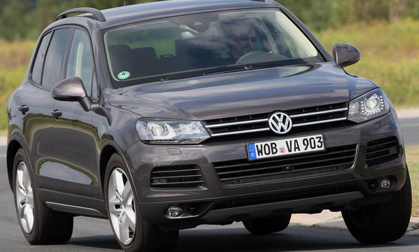 VW Touareg V6 TDI BlueMotion Technology im SUV-Vergleichstest