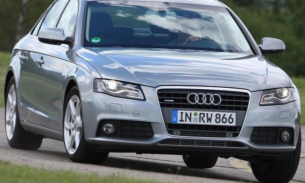Die Kosten des Audi A4 2.0 TFSI quattro betragen 37.300 Euro