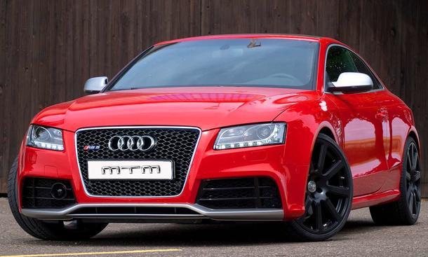Audi RS5 von MTM getunt - Ein RS 5 ist zu langsam? Tuner MTM hat da eine Idee