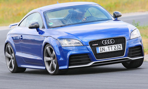 Der Audi TT RS kostet ab 58.300 Euro